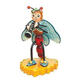 Libelle mit Klarinette  -  8cm