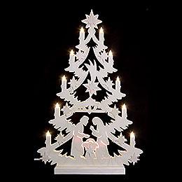Lichterspitze Weihnachtsbaum  -  60x40x5,5cm