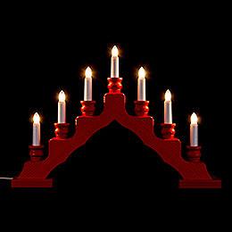 Light Arch  -  Swedish Style  -  Red  -  33cm / 13 inch