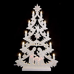 Light Triangle  -  Christmas Tree  -  60x40x5,5cm / 23,6x15,6x2 inch