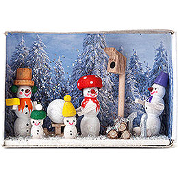 Matchbox  -  A Winter's Fairytale  -  4cm / 1.6 inch