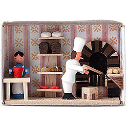 Matchbox  -  Bakery  -  4cm / 1.6 inch