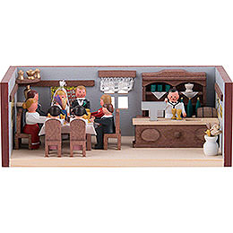 Miniature Room  -  Wedding Parlor  -  4cm / 1.6 inch