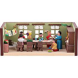 Miniaturstübchen Kindergarten  -  4cm