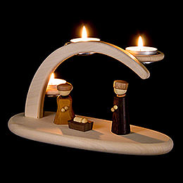 Modern Light Arch  -  Nativity  -  25x13x10cm / 9.8x5.1x3.9 inch