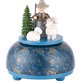 Music Box Shepherd  -  12cm / 5 inch