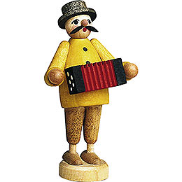 Musician with Accordion  -  7cm / 2.8 inch