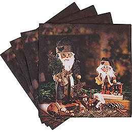 Napkins Nutcracker Teeter Men  -  20 pcs.