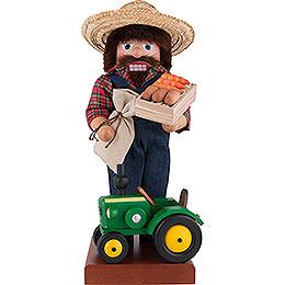 Nussknacker Farmer mit Traktor  -  45,5cm