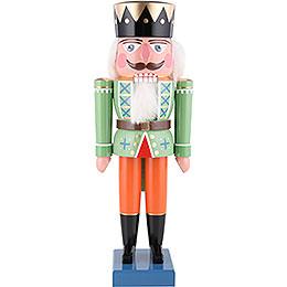 Nussknacker König grün  -  35cm
