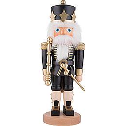 Nussknacker König schwarz  -  41,5cm