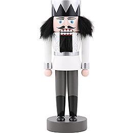 Nussknacker König weiß  -  25cm
