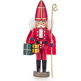 Nussknacker Nikolaus rot  -  15cm