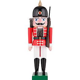 Nussknacker Soldat rot  -  40cm