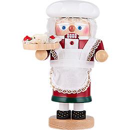 Nussknacker Troll Weihnachtsfrau  -  27cm
