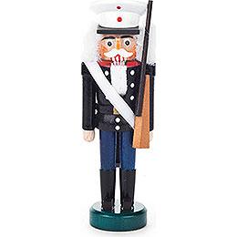 Nussknacker US - Soldat schwarz - blau  -  13cm
