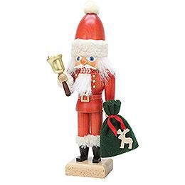 Nussknacker Weihnachtsmann mit Glocke  -  30,5cm
