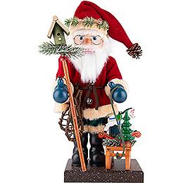 Nussknacker Weihnachtsmann mit Schlitten  -  47cm