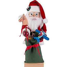 Nussknacker Weihnachtsmann mit Spielzeug  -  47cm