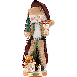 Nussknacker Woodland Santa, limitierte Edition  -  45cm