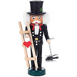 Nutcracker  -  Chimney Sweep Black  -  14cm / 5.5 inch