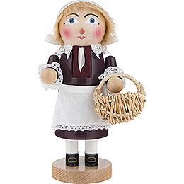 Nutcracker  -  Chubby Pilgrim Lady  -  27,5cm / 2 inch