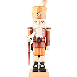 Nutcracker  -  Erzgebirge Miner Natural Colors  -  79,5cm / 31 inch
