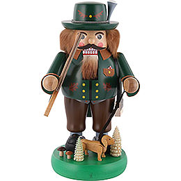 Nutcracker  -  Forest Ranger with Dachsdog  -  33cm / 13 inch