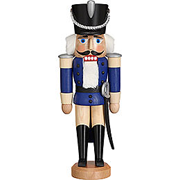 Nutcracker  -  Hussar Glazed Blue  -  28cm / 11 inch
