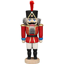 Nutcracker  -  Hussar Red  -  12cm / 4.7 inch