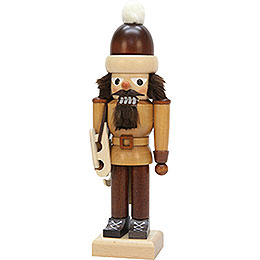 Nutcracker  -  Ice Skater, Natural  -  29cm / 11.4 inch