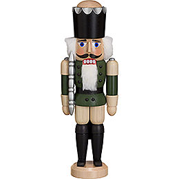 Nutcracker  -  King  -  Ash  -  Green  -  29cm / 11 inch