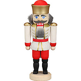 Nutcracker  -  King White  -  12cm / 4.7 inch