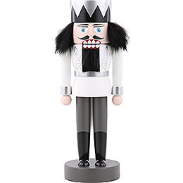 Nutcracker  -  King White  -  25cm / 9.8 inch