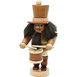 Nutcracker  -  Mini Drummer Natural Colors  -  10,5cm / 4 inch