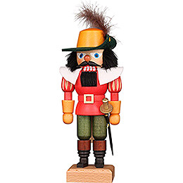 Nutcracker  -  Musketeer Red  -  24,5cm / 9.6 inch