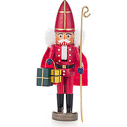Nutcracker  -  Nikolaus Red  -  15cm / 5.9 inch