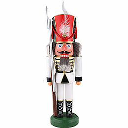 Nutcracker  -  Soldier, White  -  38cm / 15 inch