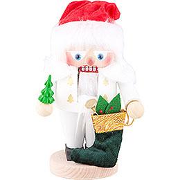 Nutcracker  -  White Santa  -  25cm / 10 inch