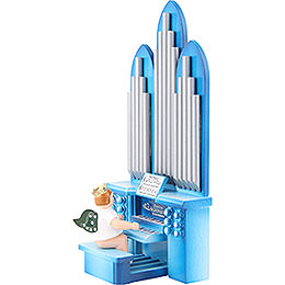 Organ with Angel with Crown  -  6,5cm / 2.5 inch
