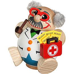 Räuchermännchen Arzt  -  Kugelräucherfigur  -  12cm
