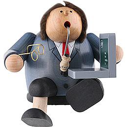 Räuchermännchen Computerexperte  -  Kantenhocker  -  15cm