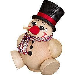 Räuchermännchen Cool Man mit Schal  -  Kugelräucherfigur  -  12cm
