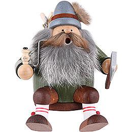 Räuchermännchen Holzfäller  -  Kantenhocker  -  16cm
