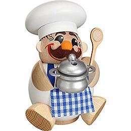 Räuchermännchen Koch  -  Kugelräucherfigur  -  12cm