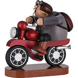 Räuchermännchen Motorradfahrer  -  21cm