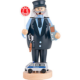 Räuchermännchen Polizist  -  23cm