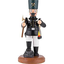 Räuchermännchen Sächsischer Bergmann in Paradeuniform mit Knickbein  -  22cm