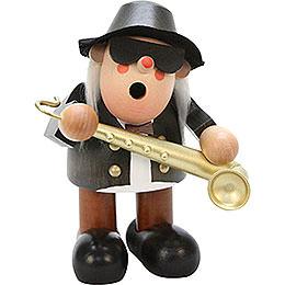 Räuchermännchen Saxophonspieler  -  16,5cm