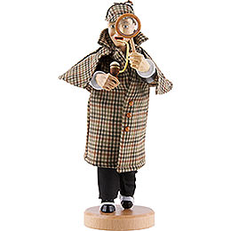 Räuchermännchen Sherlock Holmes  -  21cm